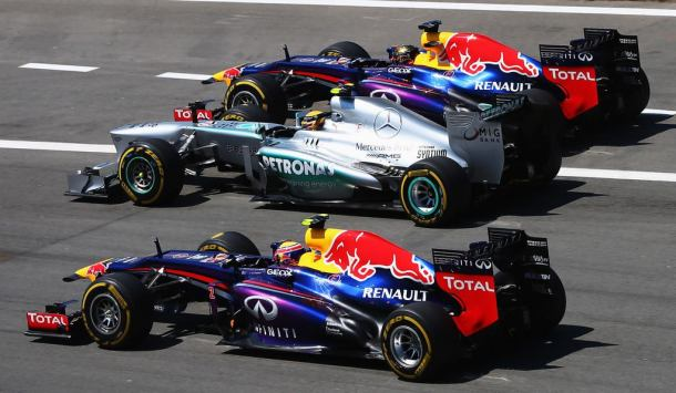 Whatever the results of the secret test, they didn't benefit Mercedes too much; from Germany onwards Red Bull found new speed and swamped the opposition.